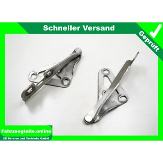 Motorhauben Scharnier 2mal Starsilber Z157 Opel Vectra C Kombi, 24435369RH,