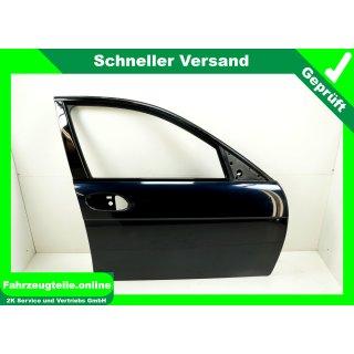 Tür vorn rechts Carbonschwarz Metallic 416/9 BMW 7er E65 Limo 5Türer,