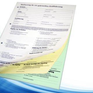 Auto Kfz Kaufvertrag Für Gebrauchtwagen Online Kaufen