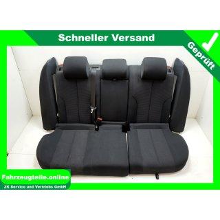 Sitze Rücksitzbank Stoff schwarz VW Passat 3C5 Kombi