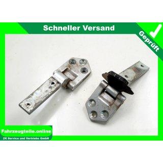 Hecktür Türscharnier rechts Reflexsilber Metallic LA7W VW CaddyIII 2K 2K0827152C