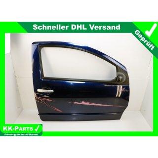 Tür vorn rechts Beifahrertür komplett Bleu Oriental Nacre KPUD Citroen C2 Typ 1