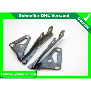 Motorhaube Scharnier Lichtsilber 4AU, 13213449LH, 13213450RH, Opel Vectra C